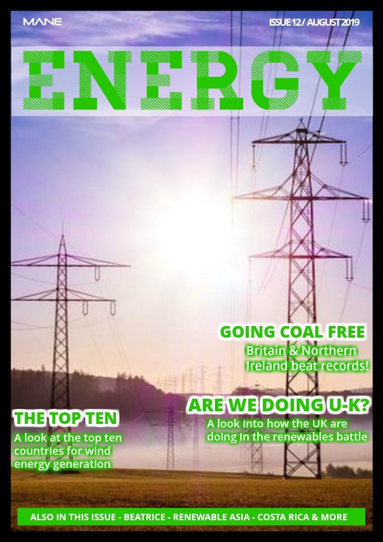 Mane Energy Issue 12 - August 2019