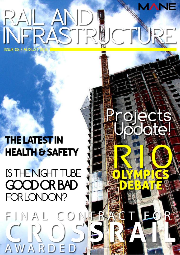 Mane Rail & Infrastructure Issue 5 - August 2016