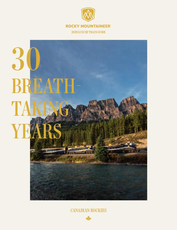 2020 CAD Rocky Mountaineer Brochure 2020-CAD-Rocky-Mountaineer-Brochure