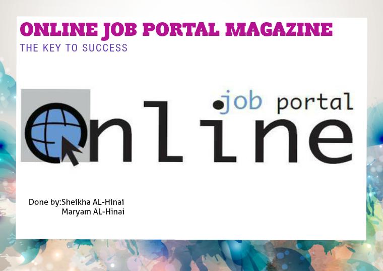 Online Job Portal job