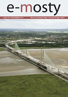 e-mosty September 2017: Mersey Gateway Bridge. Arenales Bridge.