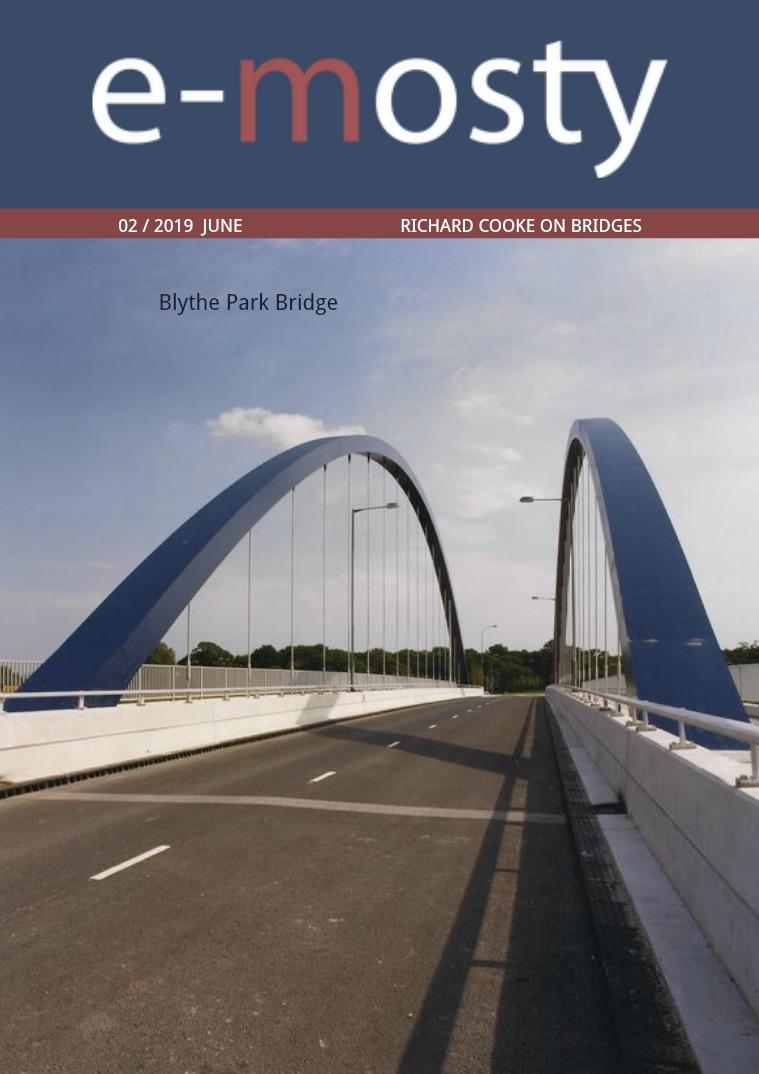 e-mosty June 2019 Richard Cooke on Bridges