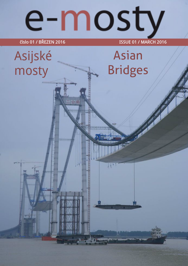 e-mosty 1/2016 Asian Bridges e-mosty March 1/2016 Asian Bridges