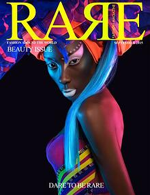 Rare Fashion Magazine September 2015