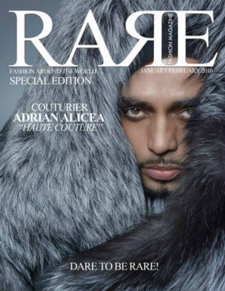 Rare Fashion Magazine January and February Special Jan / Feb 2016 Special Edition