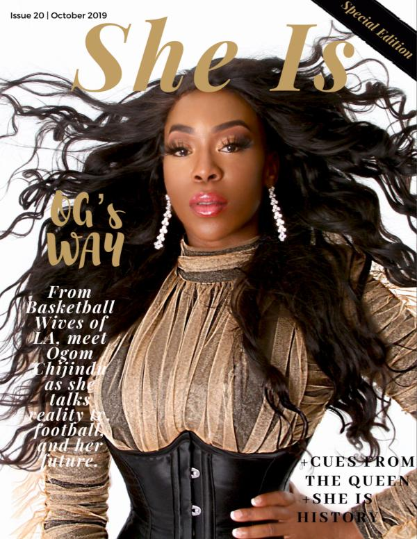 She Is... October Edition