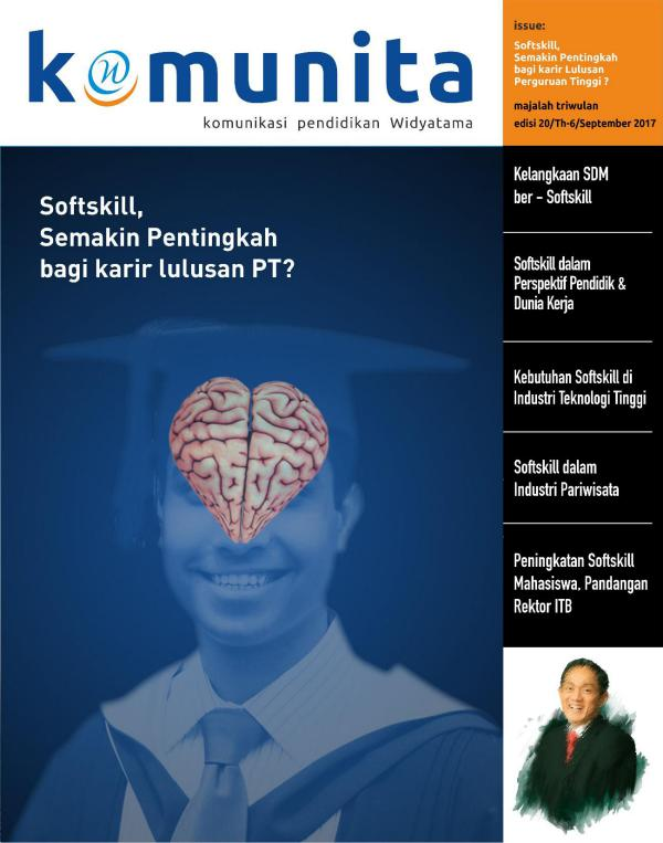 MAJALAH KOMUNITA SEPTEMBER 2017