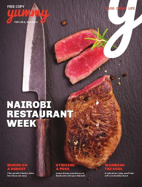 Yummy Magazine Vol 4 - Nairobi Restaurant Week 2015