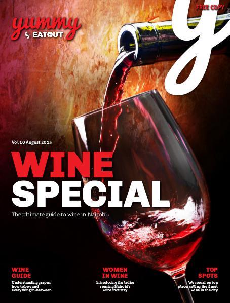 Yummy Magazine Vol 10 - Wine Special