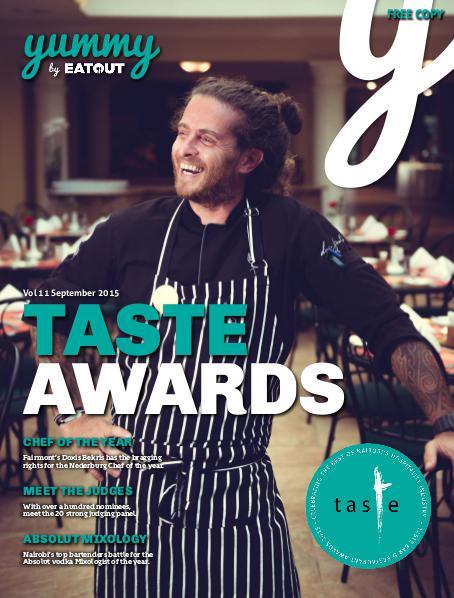 Yummy Magazine Vol 11 - Taste Awards