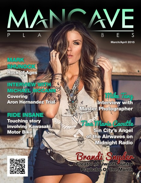 MANCAVE PLAYBABES - MARCH/APRIL 2015 March 2015