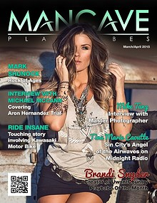 MANCAVE PLAYBABES - MARCH/APRIL 2015