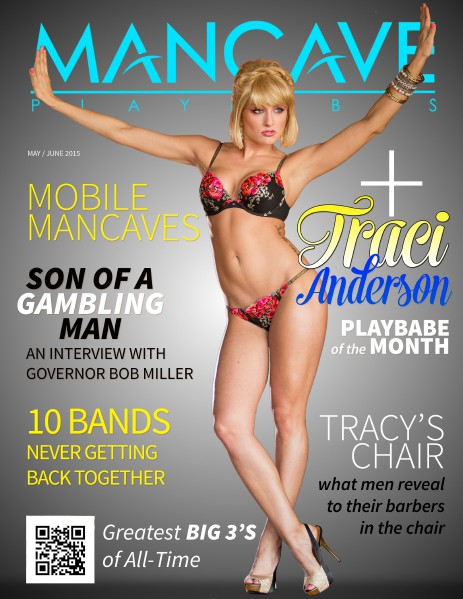 MANCAVE PLAYBABES - MARCH/APRIL 2015 MAY / JUNE 2015