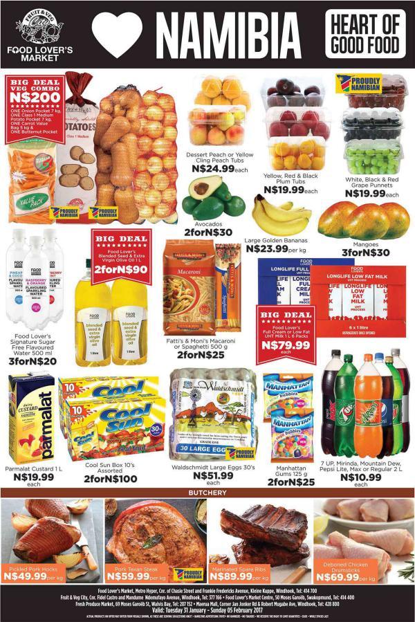 Fruit & Veg City Namibia 31 Jan - 5 Feb 2017