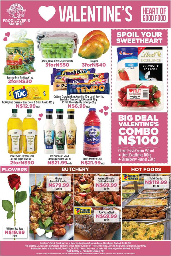 Fruit & Veg City Namibia 14 Feb - 19 Feb 2017