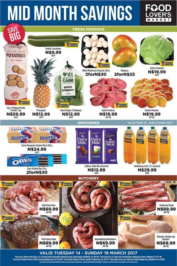 Fruit & Veg City Namibia 14 March - 19 March 2017