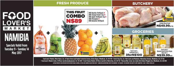 Fruit & Veg City Namibia 9 May - 14 May 2017