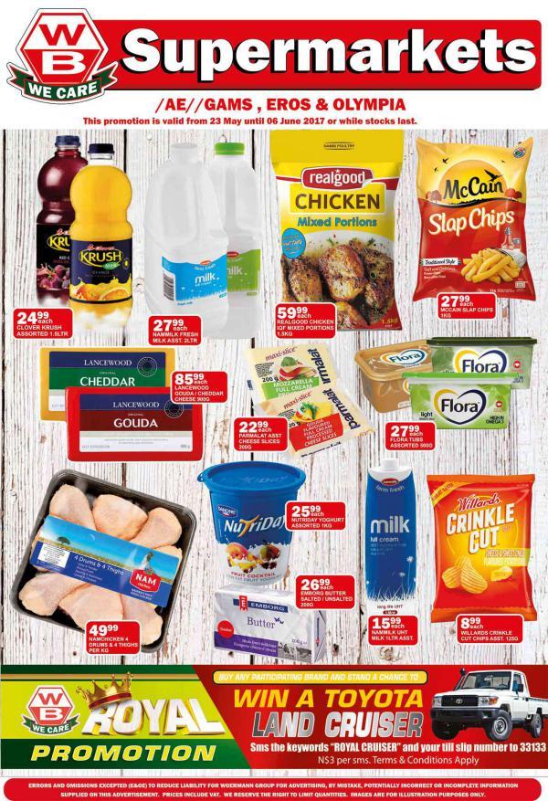 Woermann Supermarkets 24 May - 6 June 2017