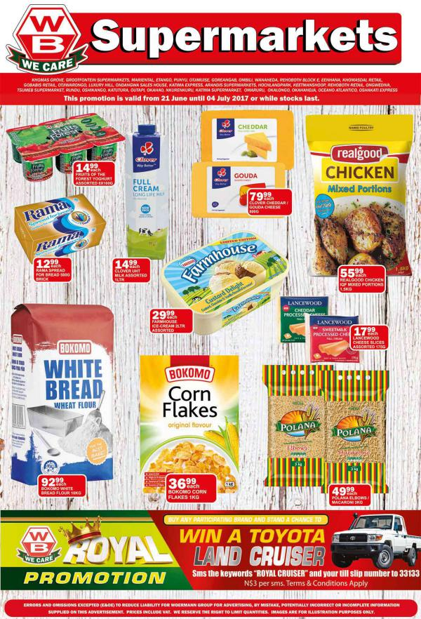 Woermann Supermarkets 21 June - 4 July 2017