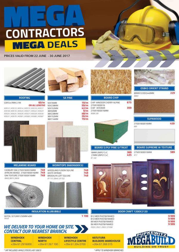 Pupkewitz MegaBuild Namibia Mega Contractor's Promo