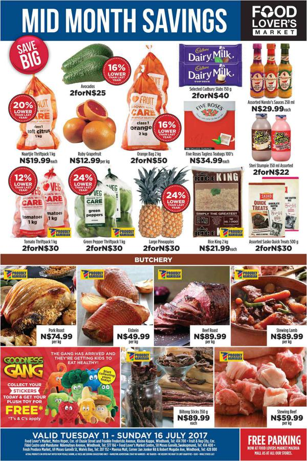 Fruit & Veg City Namibia 11 July - 16 July 2017