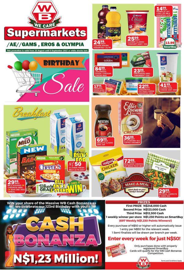 Woermann Supermarkets 23 August - 5 September 2017