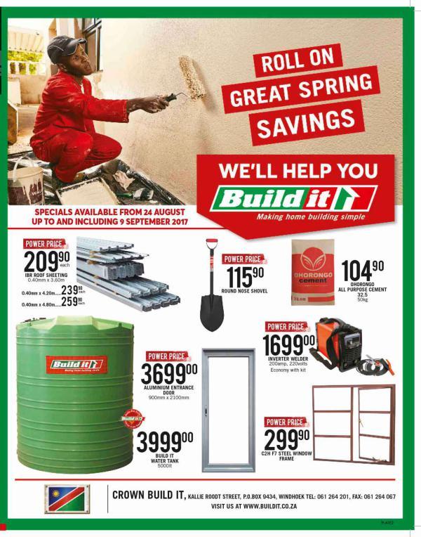Build It - Windhoek 24 Aug - 9 Sept 2017