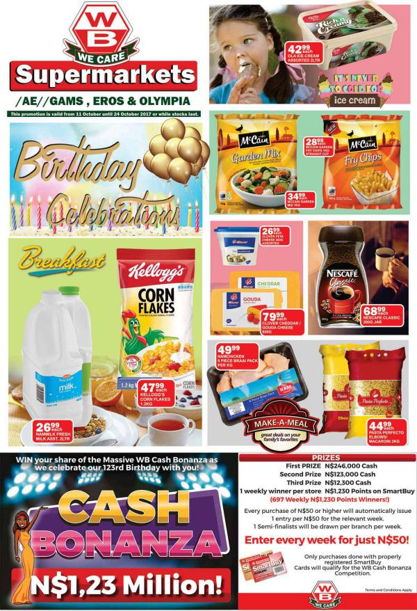 Woermann Supermarkets 11 October - 24 October 2017