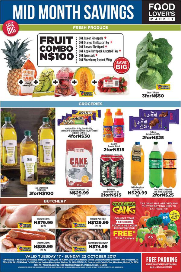 Fruit & Veg City Namibia 17 October - 22 October 2017