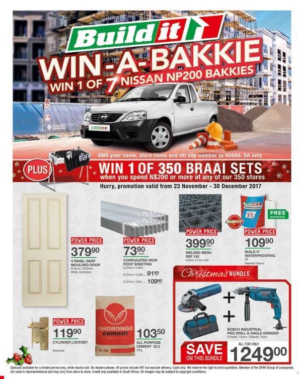 Build It - Windhoek 23 Nov - 16 Dec 2017