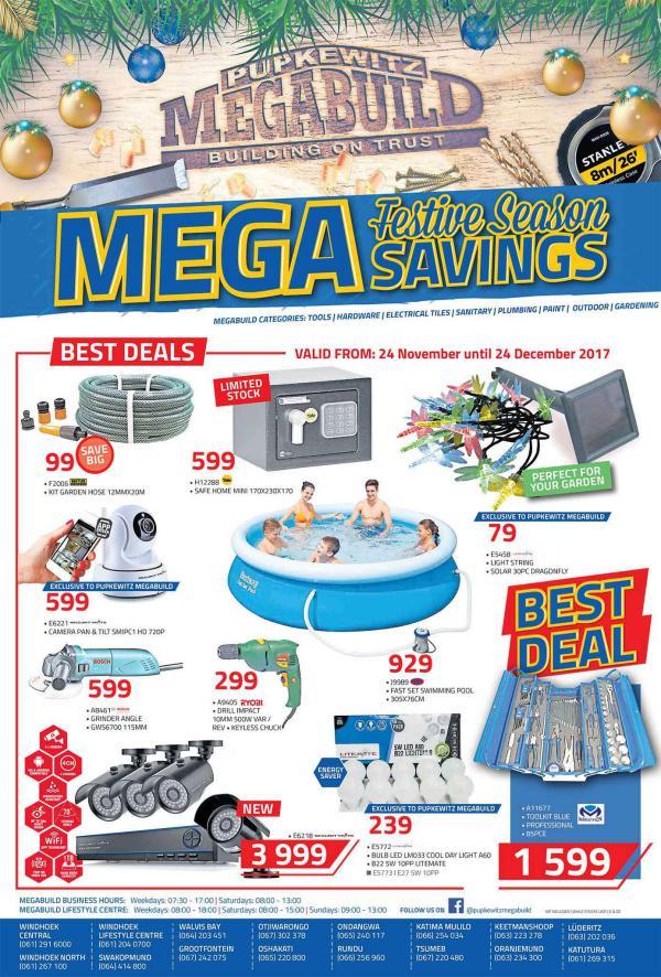 Mega Festive Season Savings.