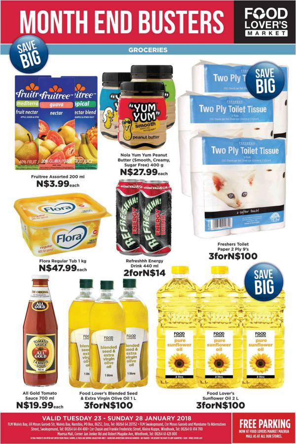 Fruit & Veg City Namibia 23 Jan - 28 Jan 2018