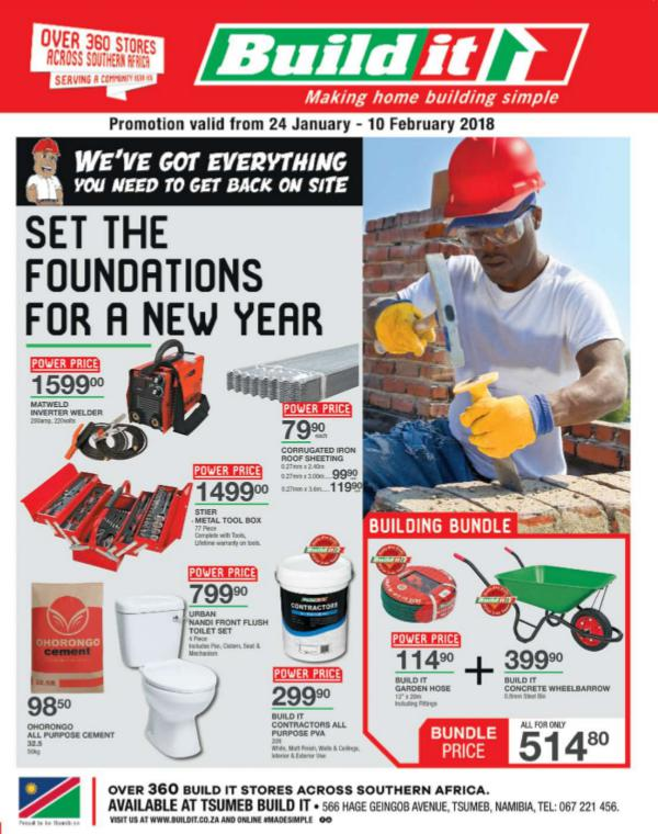 Build It Namibia - Tsumeb 24 Jan - 10 Feb 2018