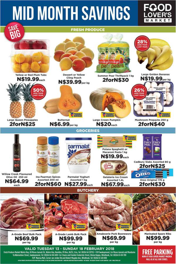 Fruit & Veg City Namibia 13 Feb - 18 Feb 2018