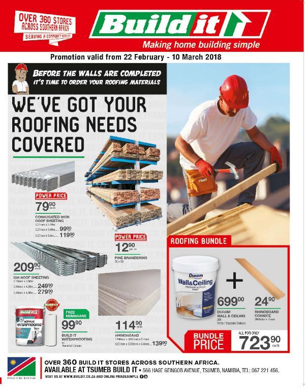 Build It Namibia - Tsumeb 22 Feb - 10 Mar 2018