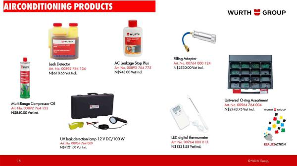 Würth Namibia March 2018 Specials