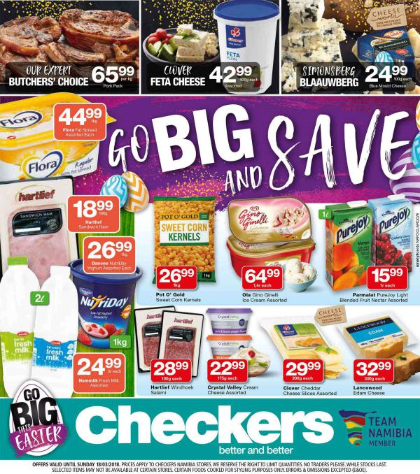Checkers Namibia 18 March 2018