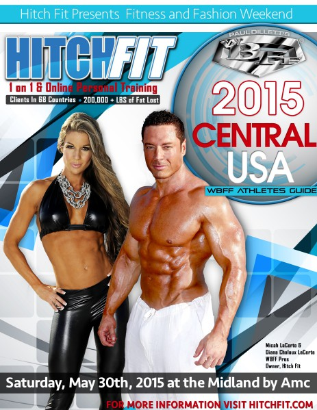 WBFF Central USA Fitness Show Athletes Guide 2015 V.1