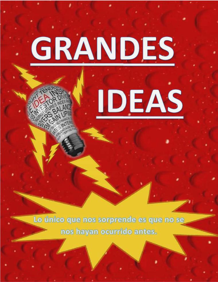 GRANDES IDEAS 1er volumen.