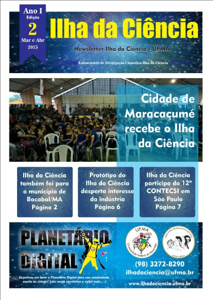 Newsletter Ilha da Ciência EDIÇÃO 2 May. 2015