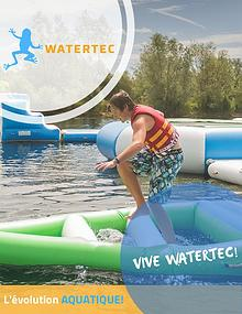 WATERTEC PARC AQUATIQUE GONFLABLE.