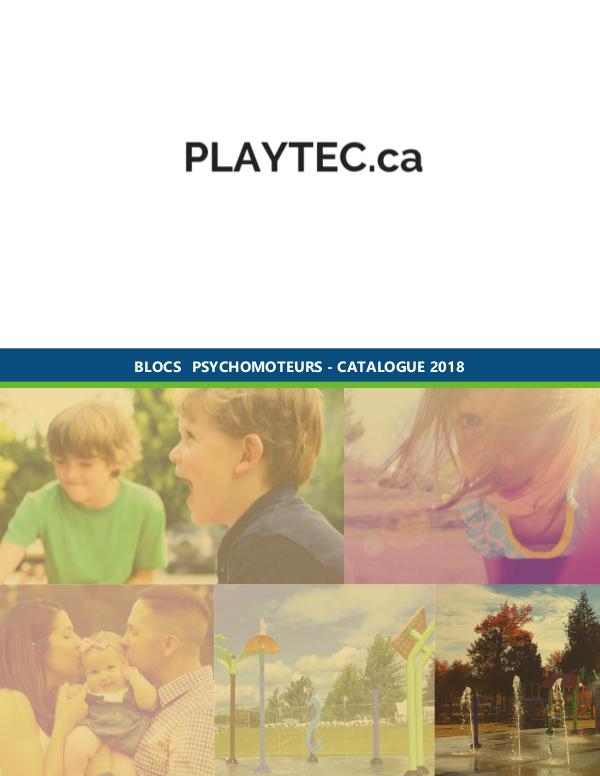 PLAYTEC.ca CATALOGUE PLAYTEC 2018