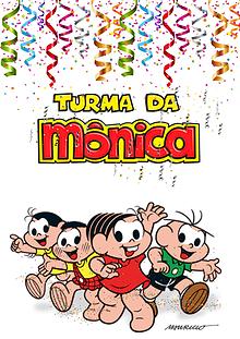 Turma da Mônica em Fantasias de carnaval!