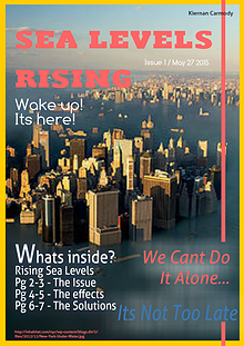 Sea Level Rising June 2015