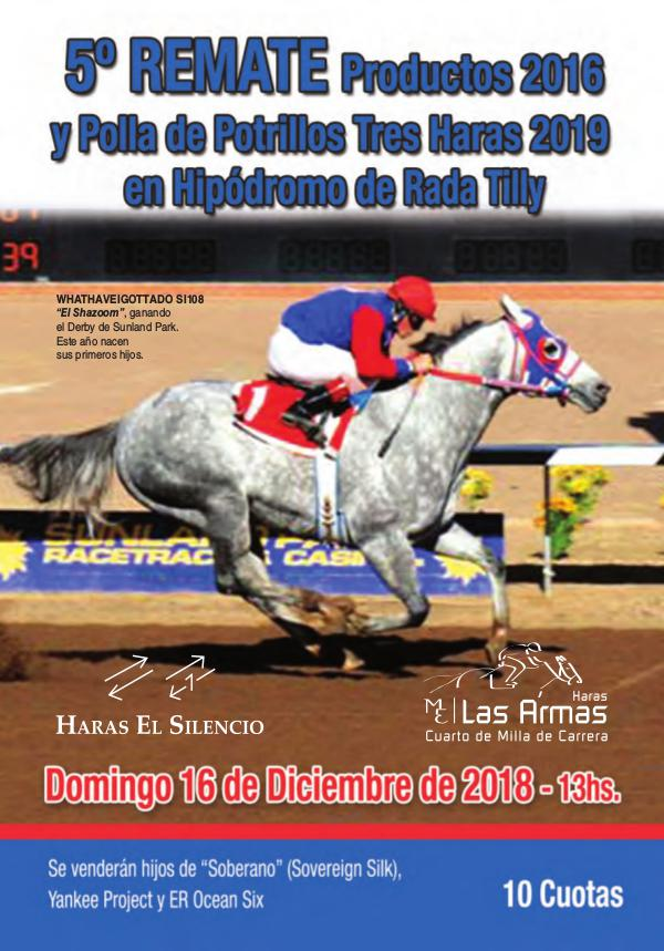 5º REMATE Productos 2016 y Polla Tres Haras 2019 Rada Tilly RadaTilly18