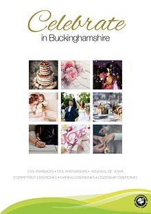 Celebrate in Buckinghamshire, Wedding Guide