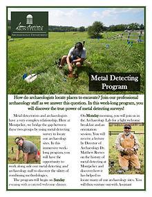 Metal Detecting Programs