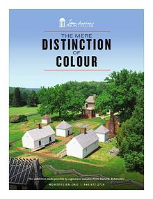 The Mere Distinction of Colour brochure