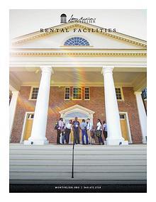 James Madison's Montpelier Rental Facilities