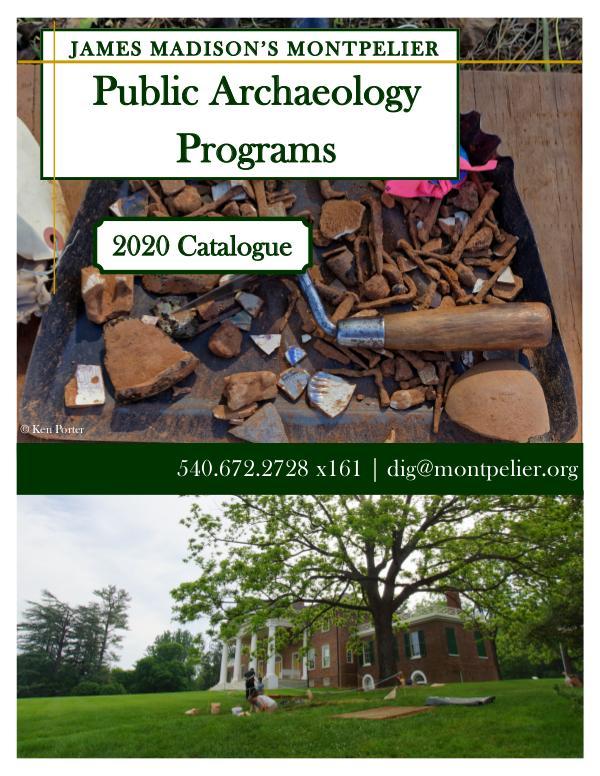 2020 Program Catalog